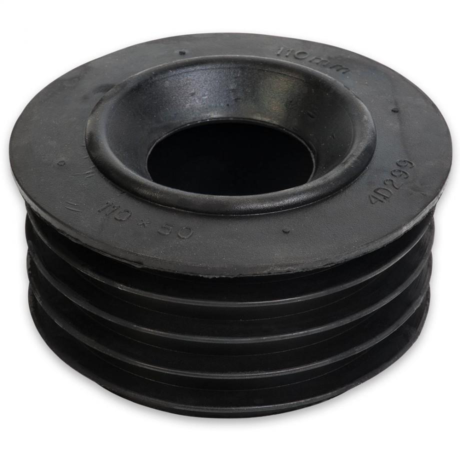 Yorkleen Rubber Adaptor Bung 110-50mm