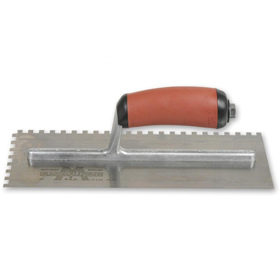 Marshalltown M702SD Square Notched Trowel