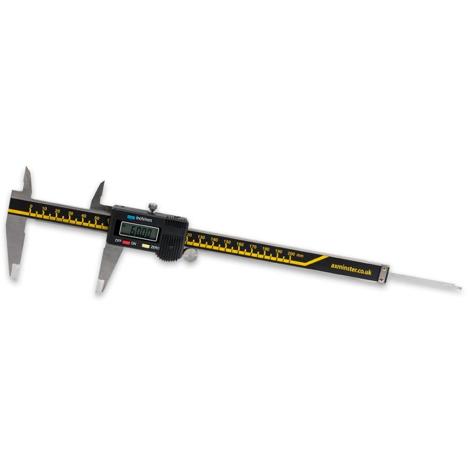 Axminster Digital Electronic Calipers - 200mm