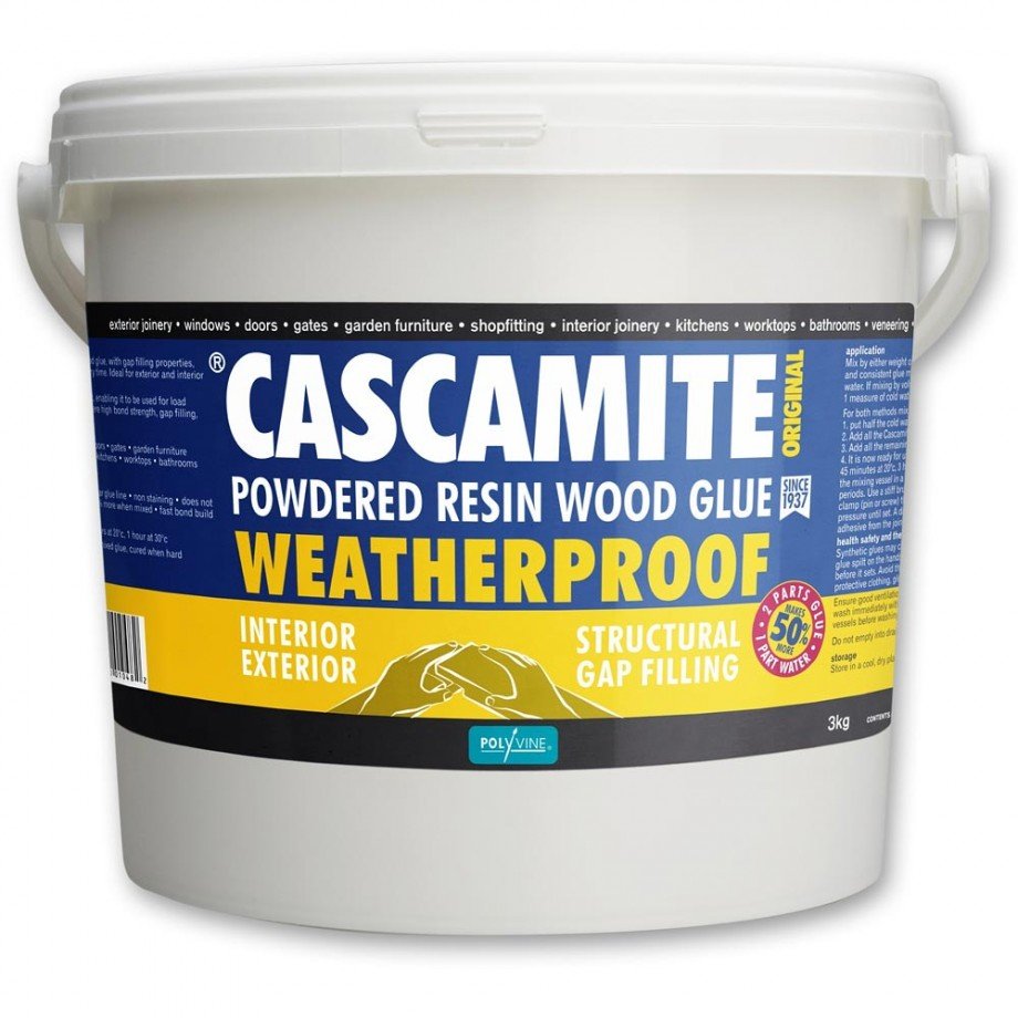 Cascamite Powdered Resin Wood Glue - 3kg