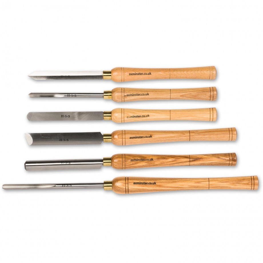 Axminster HSS Woodturning Tools Set
