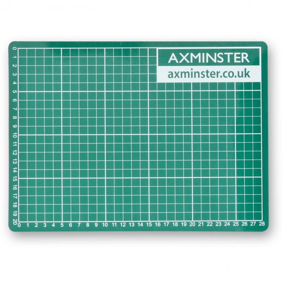 Axminster Self Healing Cutting Mat - A4 (210 x 297mm)