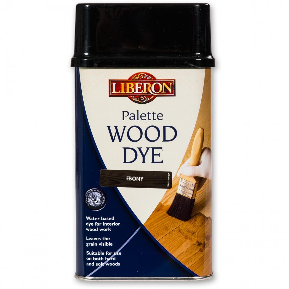 Liberon Palette Wood Dye - Ebony 500ml
