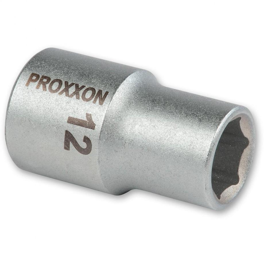 """Proxxon 1/2"""" Square Drive Socket - 12mm"""