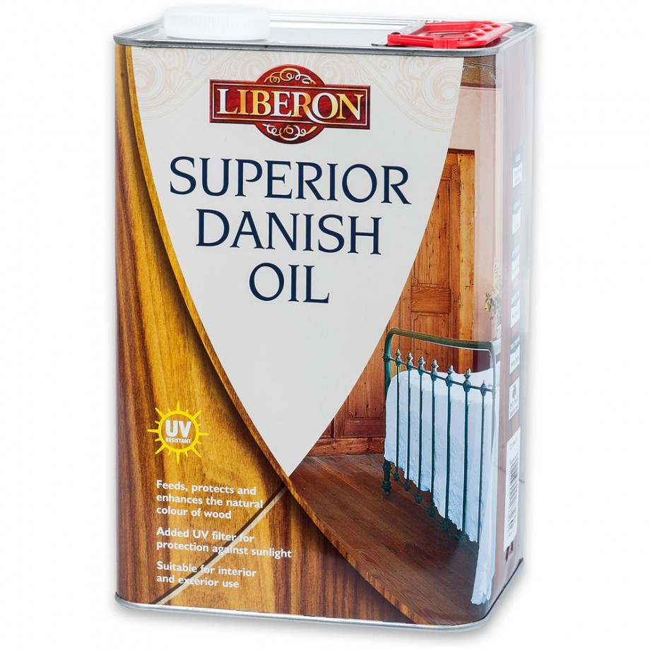 Liberon Superior Danish Oil - 5 litre