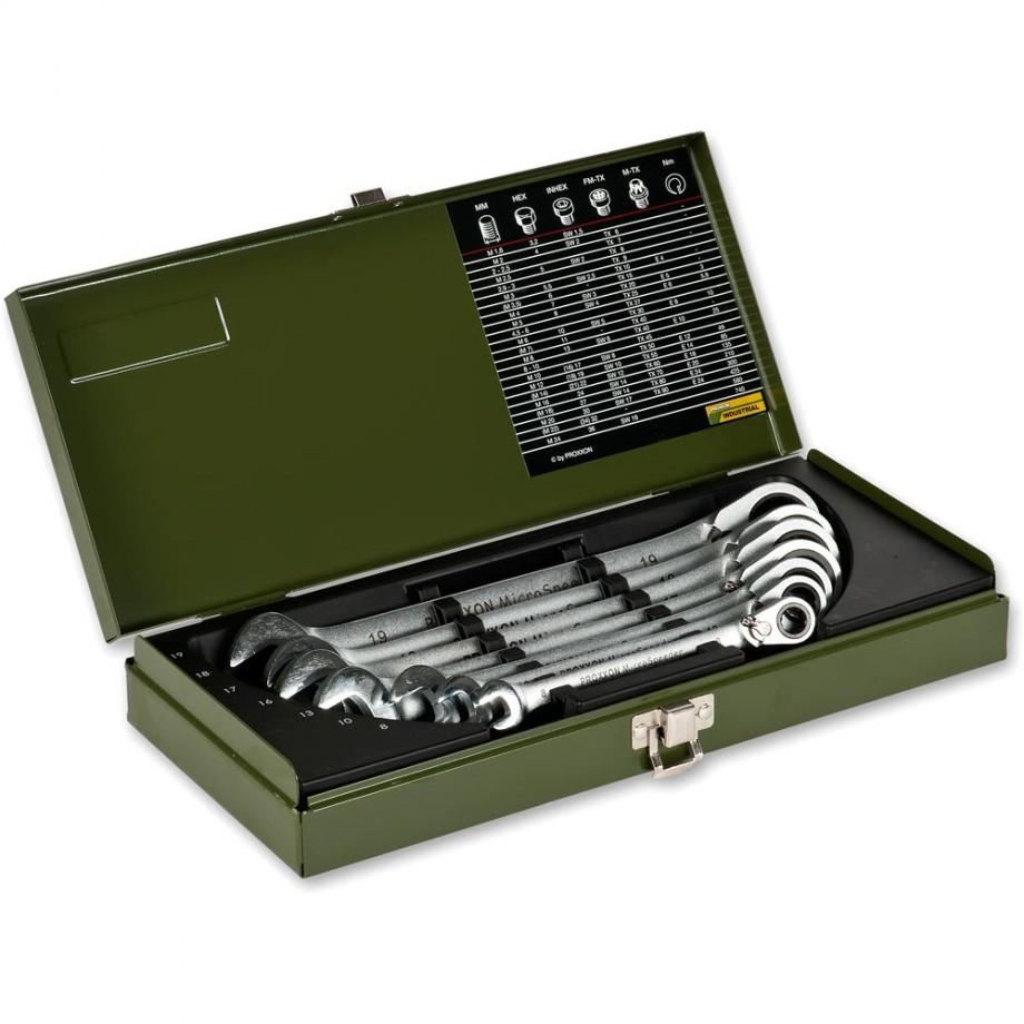 Proxxon 7 Piece Metric MICRO-Combispeeder Spanner Set