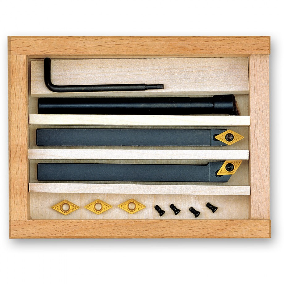 Proxxon 3 Piece Tooling Set with Tungsten Inserts