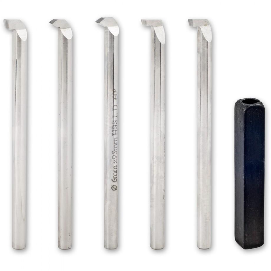 Proxxon 6 Piece HSS Boring Tool Set