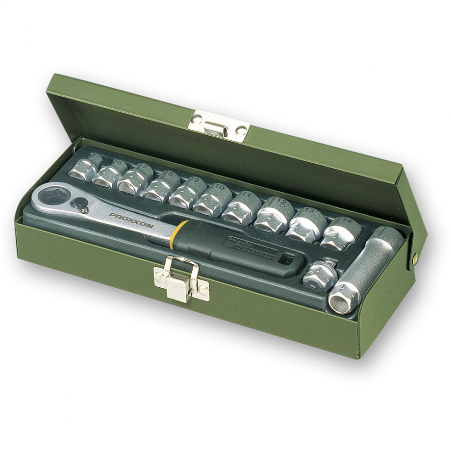 "Proxxon 13 Piece Specialist Workshop Socket Set (1/4"")"