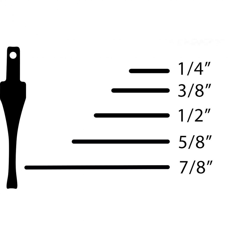 "Flexcut SK Chisel - Straight 9.5mm(3/8"")"
