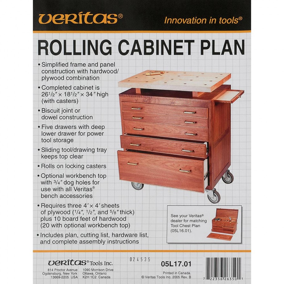 Veritas Rolling Cabinet Plans Woodworking Plans Bench Vice