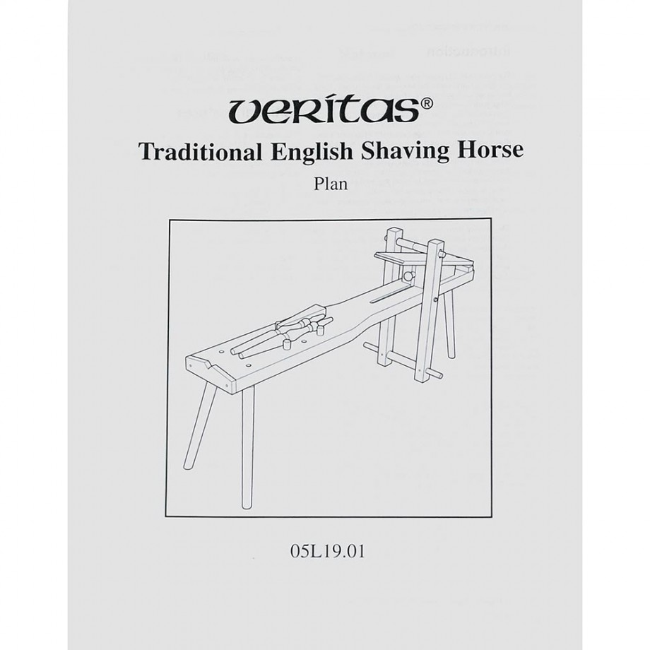 Veritas Traditional English Shaving Horse Plan