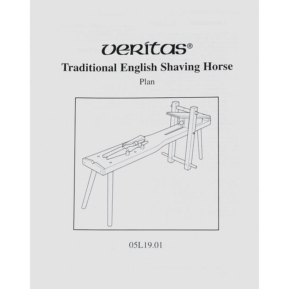 Veritas Traditional English Shaving Horse Plan
