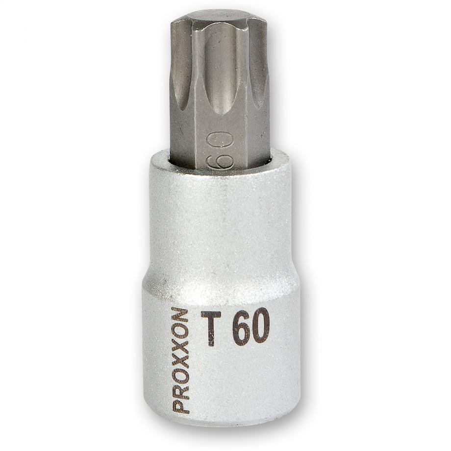 """Proxxon 1/2"""" Drive TORX Bit - T60 x 55mm"""