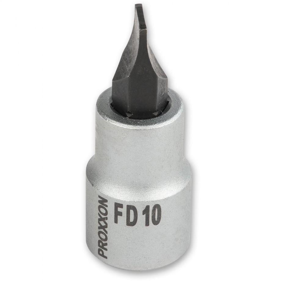 "Proxxon 1/2"" Drive Slotted Bit - 10mm"