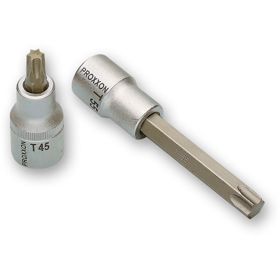 """Proxxon 1/2"""" Drive TORX Bit - T20 x 55mm"""