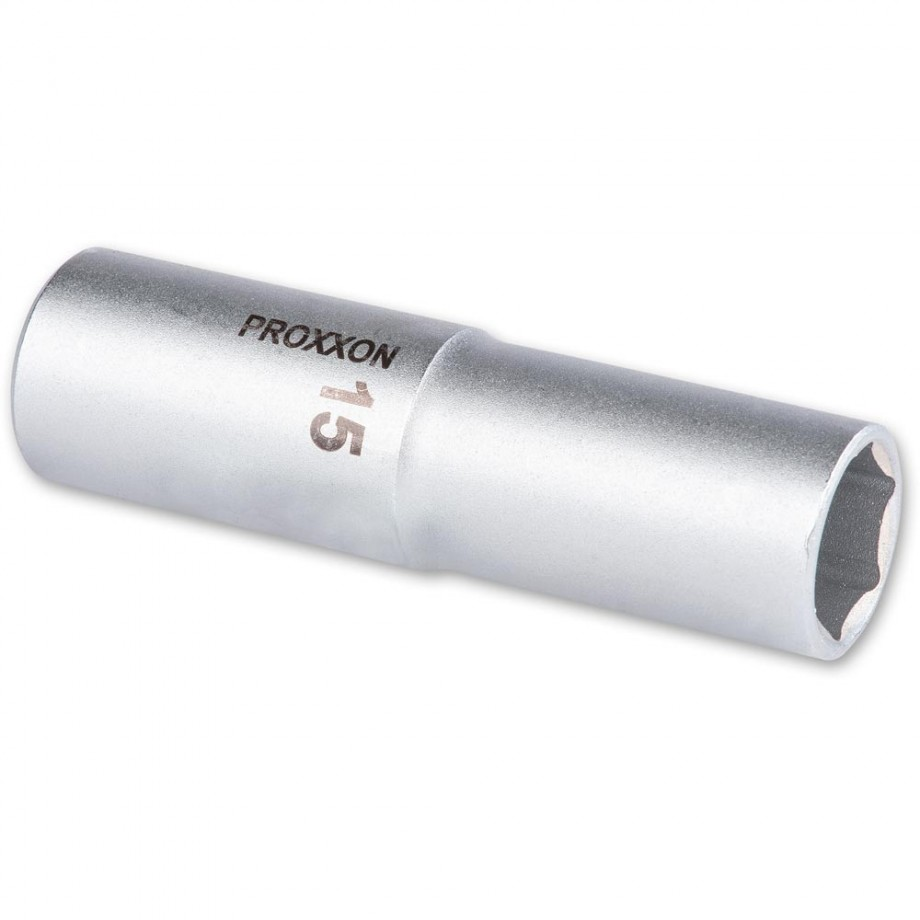"Proxxon 1/2"" Drive Deep Socket - 15mm"