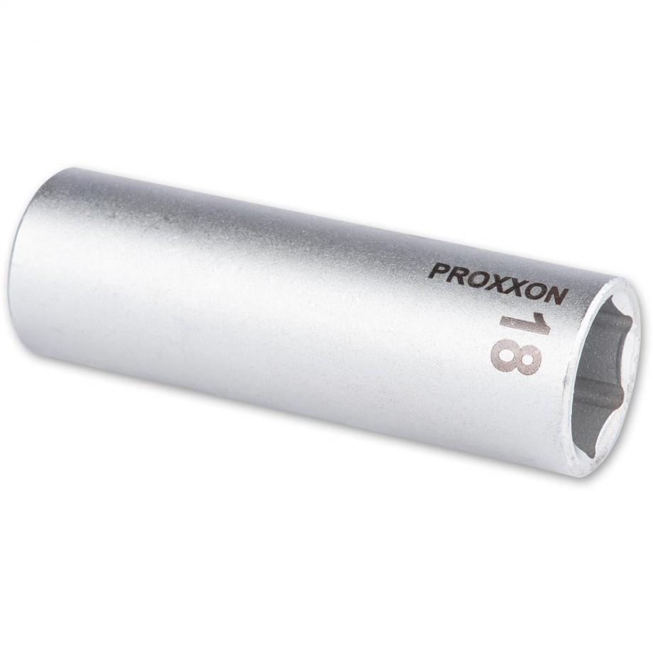 """Proxxon 1/2"""" Drive Deep Socket - 18mm"""