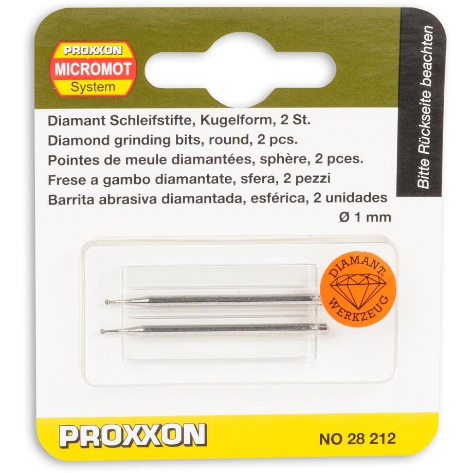 Proxxon Diamond Ball Point - 1.0mm (Pkt 2)