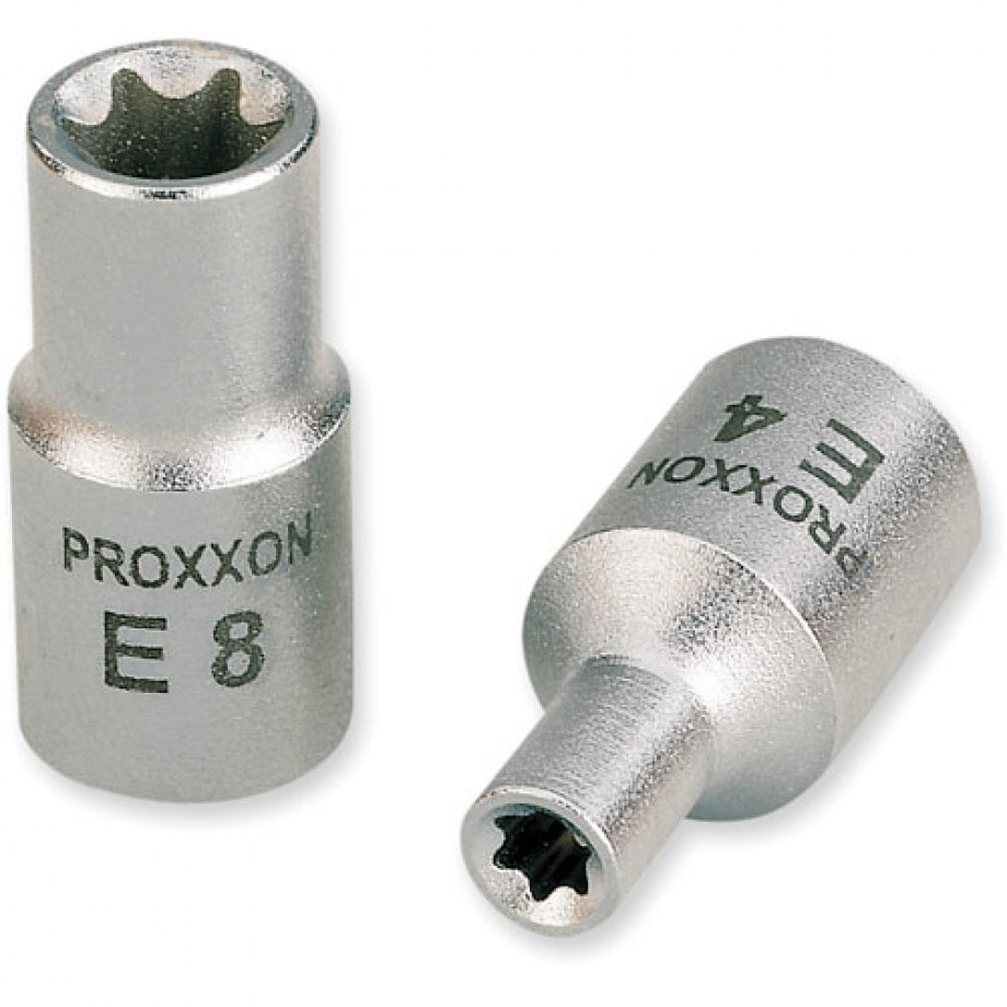 """Proxxon 1/4"""" External Torx Socket E8"""