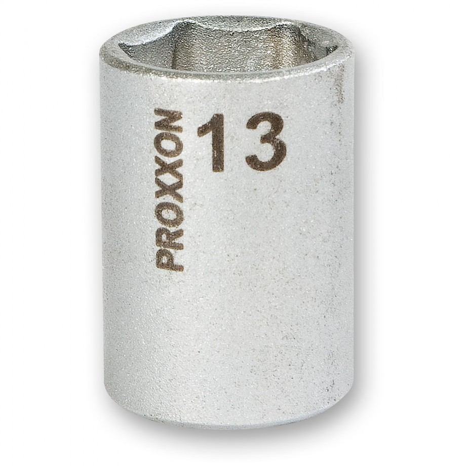 "Proxxon 1/4"" Drive Socket - 13mm"