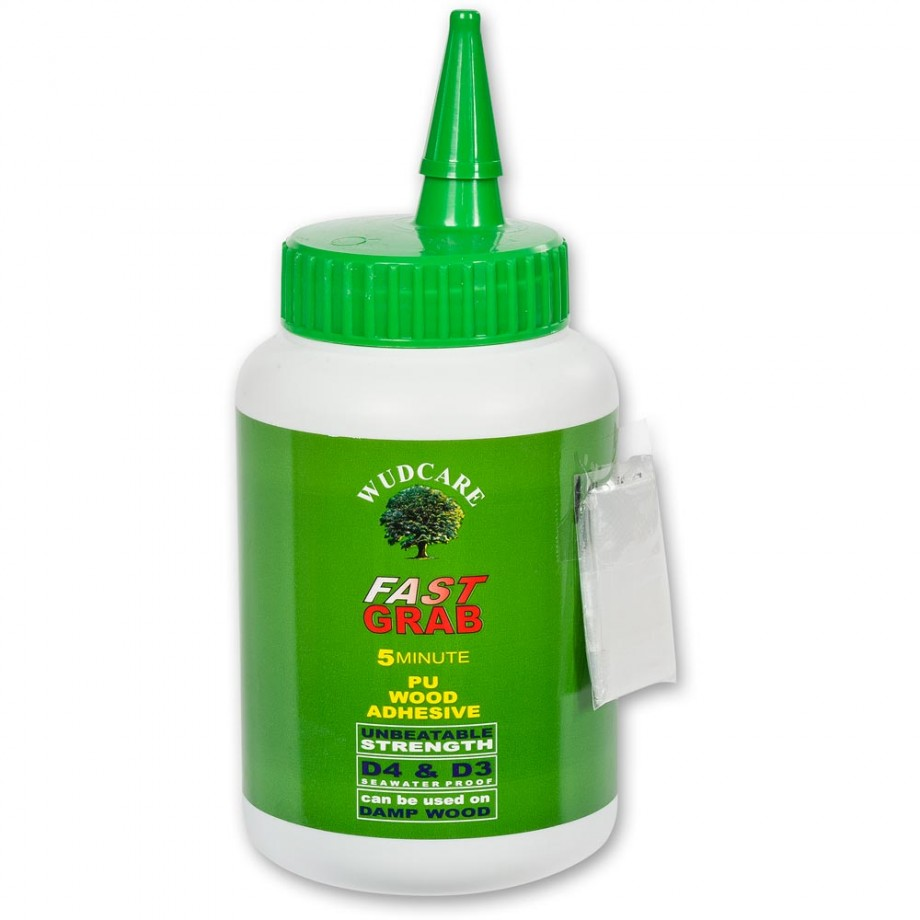 Wudcare Fast Grab 5 Minute Polyurethane Glue - Woodworking ...