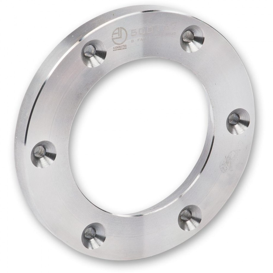 Axminster Faceplate Ring For Use With Type B Dovetail Jaws