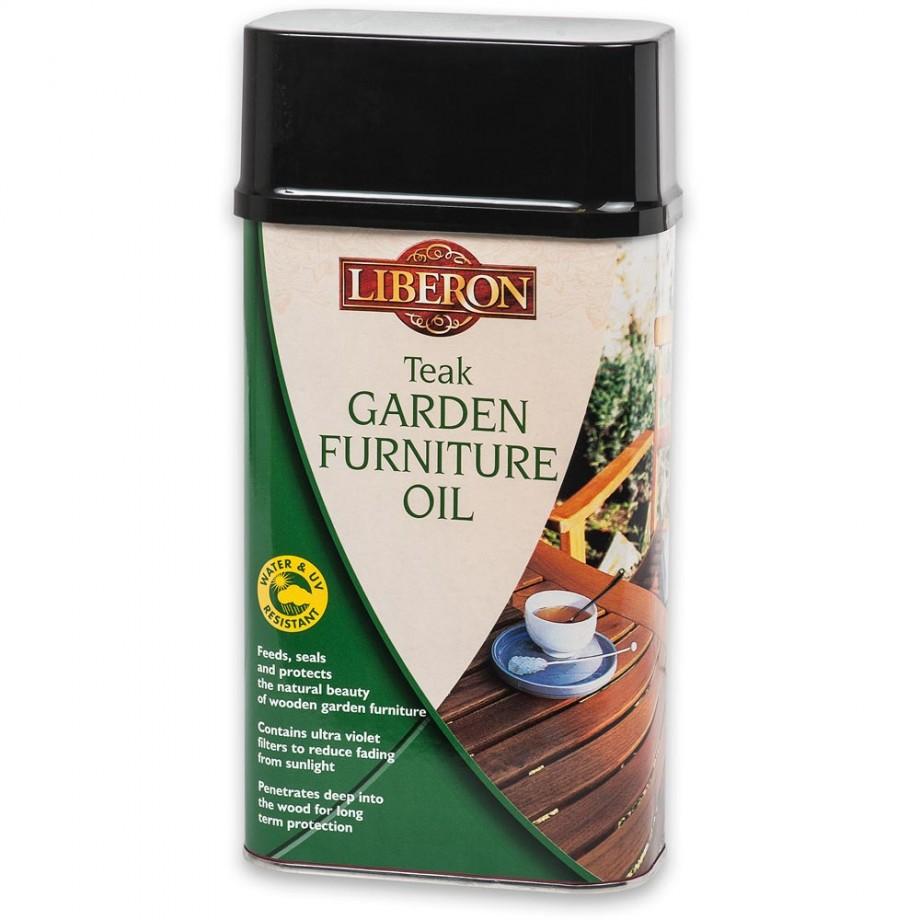 Liberon Garden Furniture Oil - Teak 1 litre