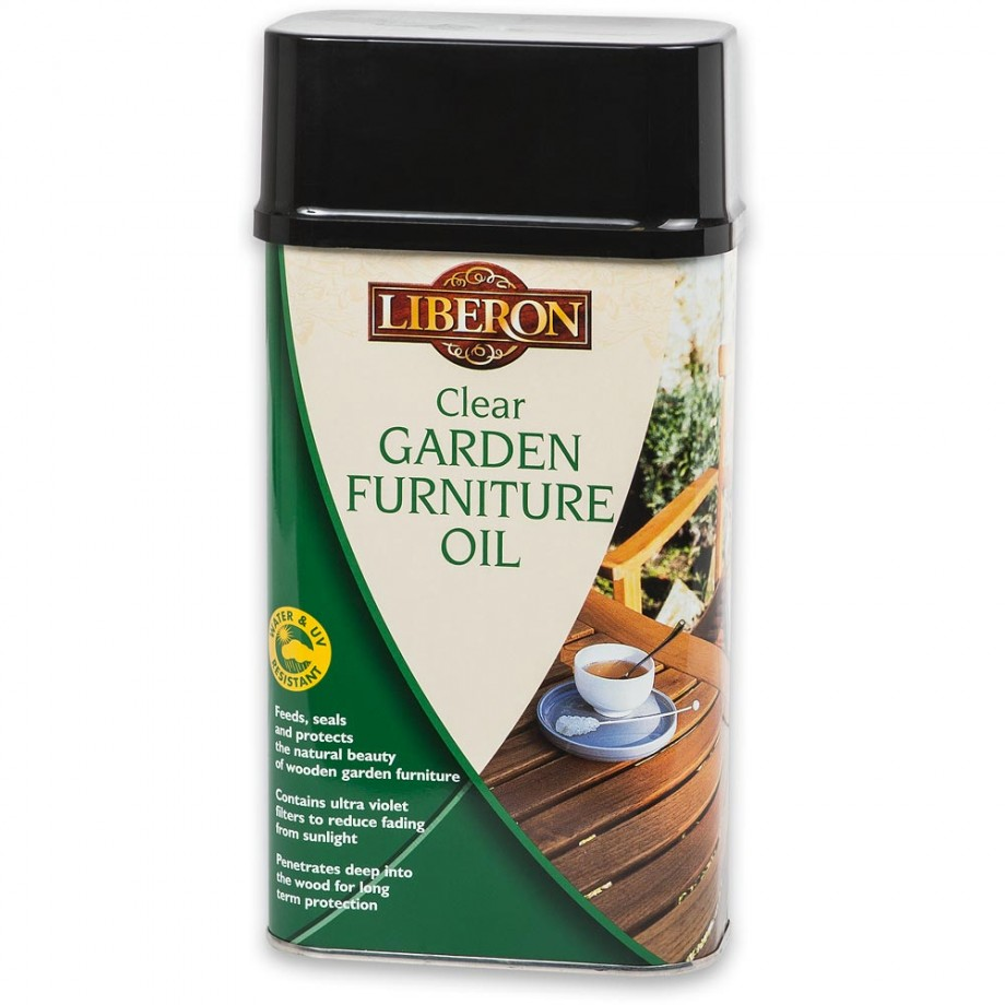 Liberon Garden Furniture Oil - Clear 1 litre