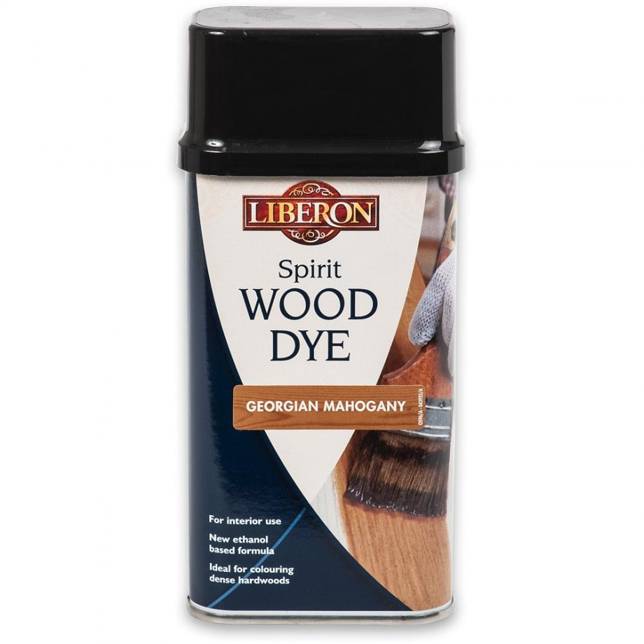 Liberon Spirit Wood Dye - Georgian Mahogany 250ml