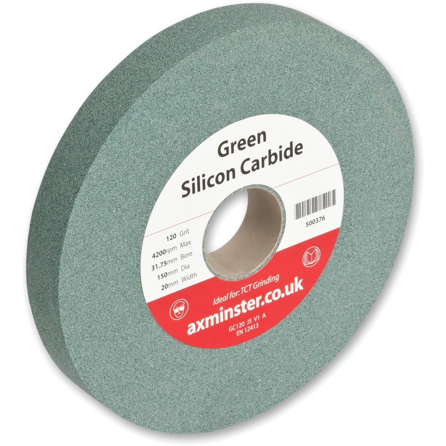 Axminster Grindstone Silicon Carbide Green