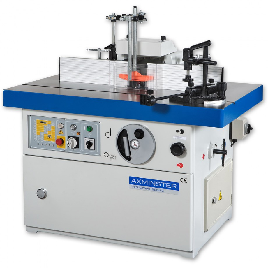 Axminster Industrial Series SS-512ML Spindle Moulder 3ph