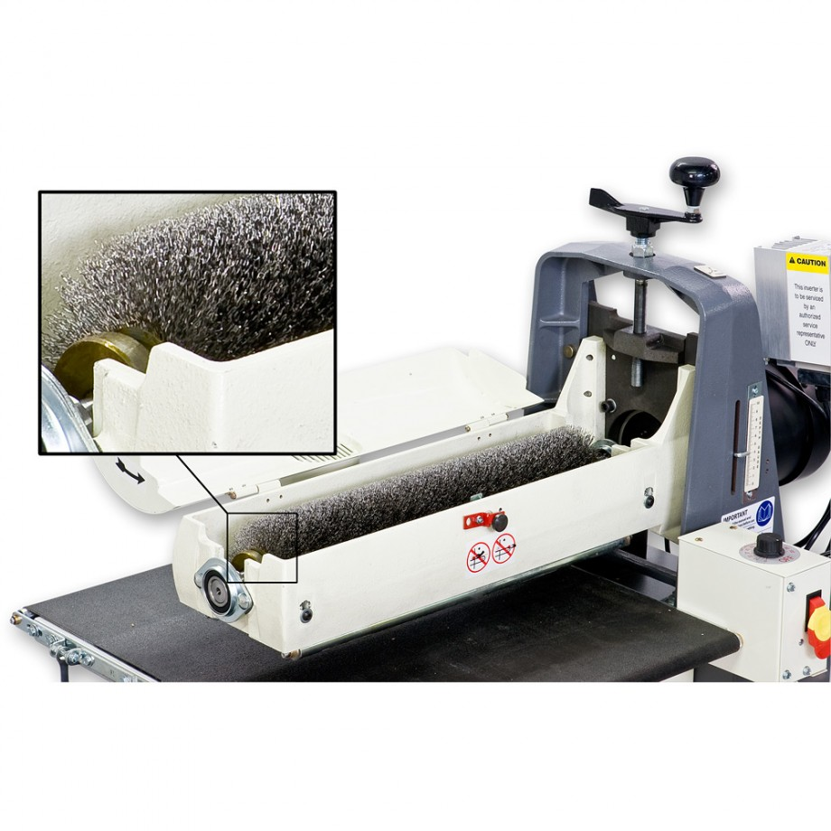Axminster Trade Series ST-480 Wire Brush - Sanding Machine ...