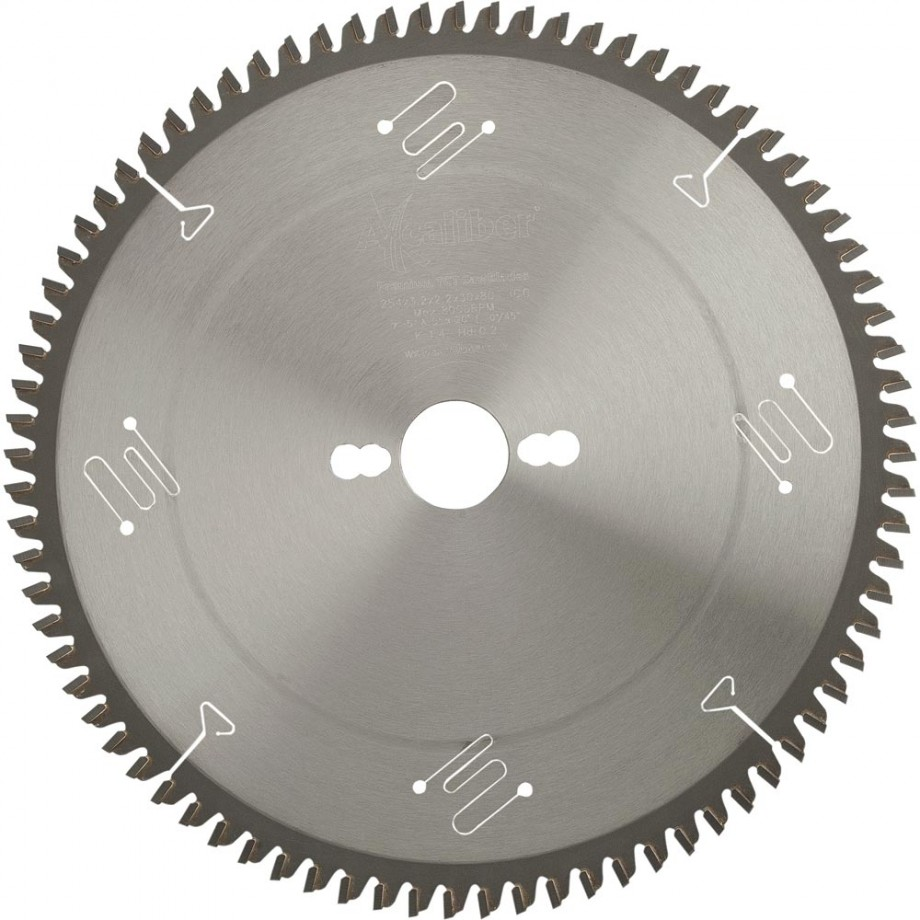 Axcaliber Premium 254mm Negative Rake Saw Blade - T80