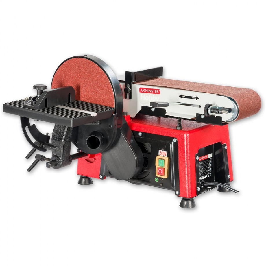 Axminster Hobby Series AS408 Belt & Disc Sander