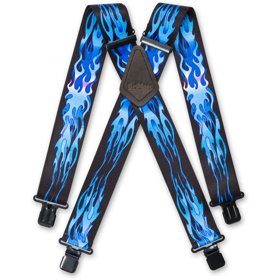 Blue Flame Braces