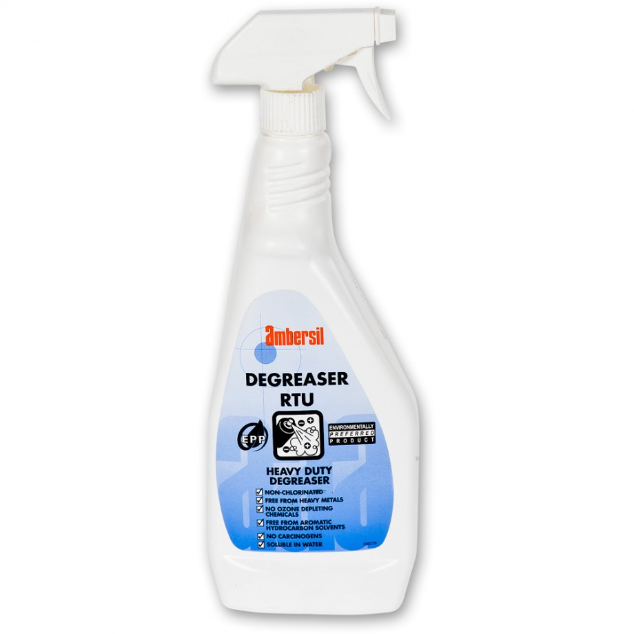 Ambersil Biodegradeable Degreaser - 750ml Ready To Use Trigger Spray