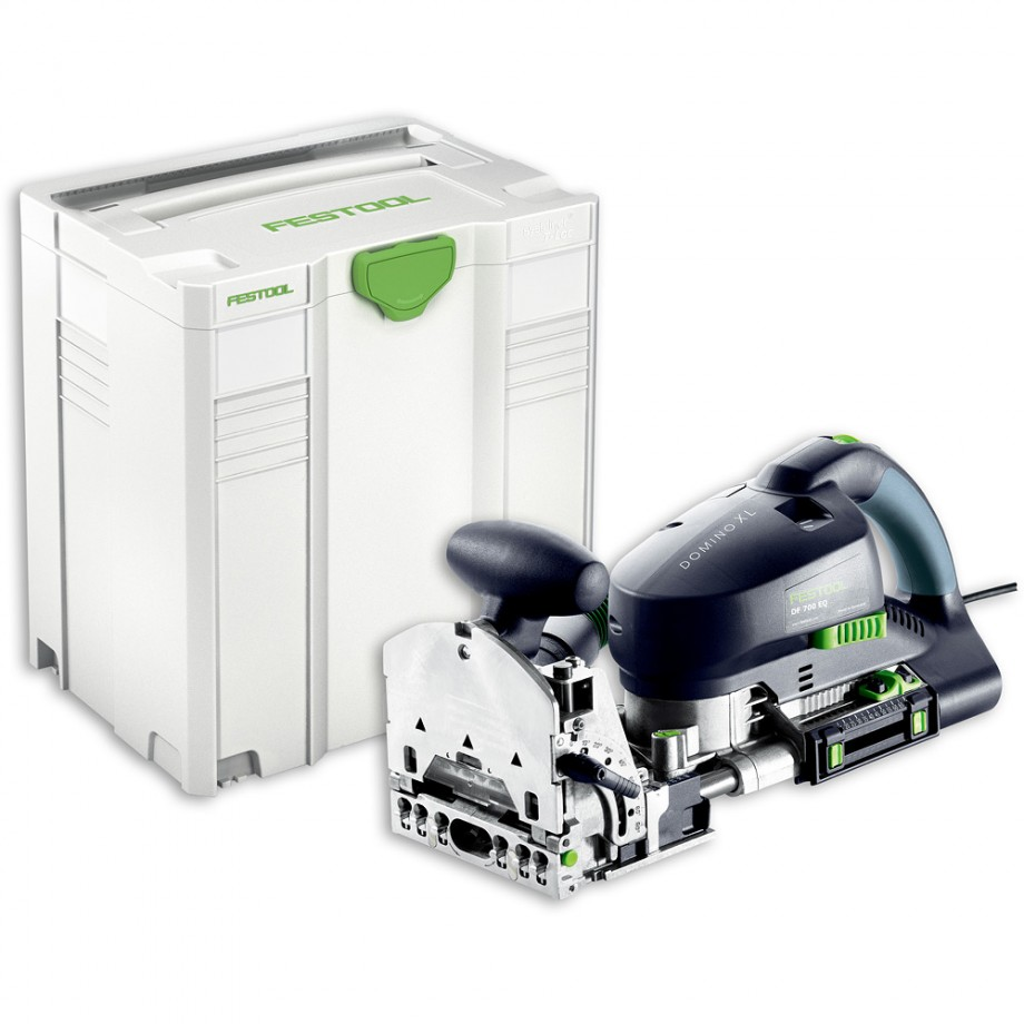 Festool DOMINO XL DF 700 EQ-Plus Jointing Machine Set