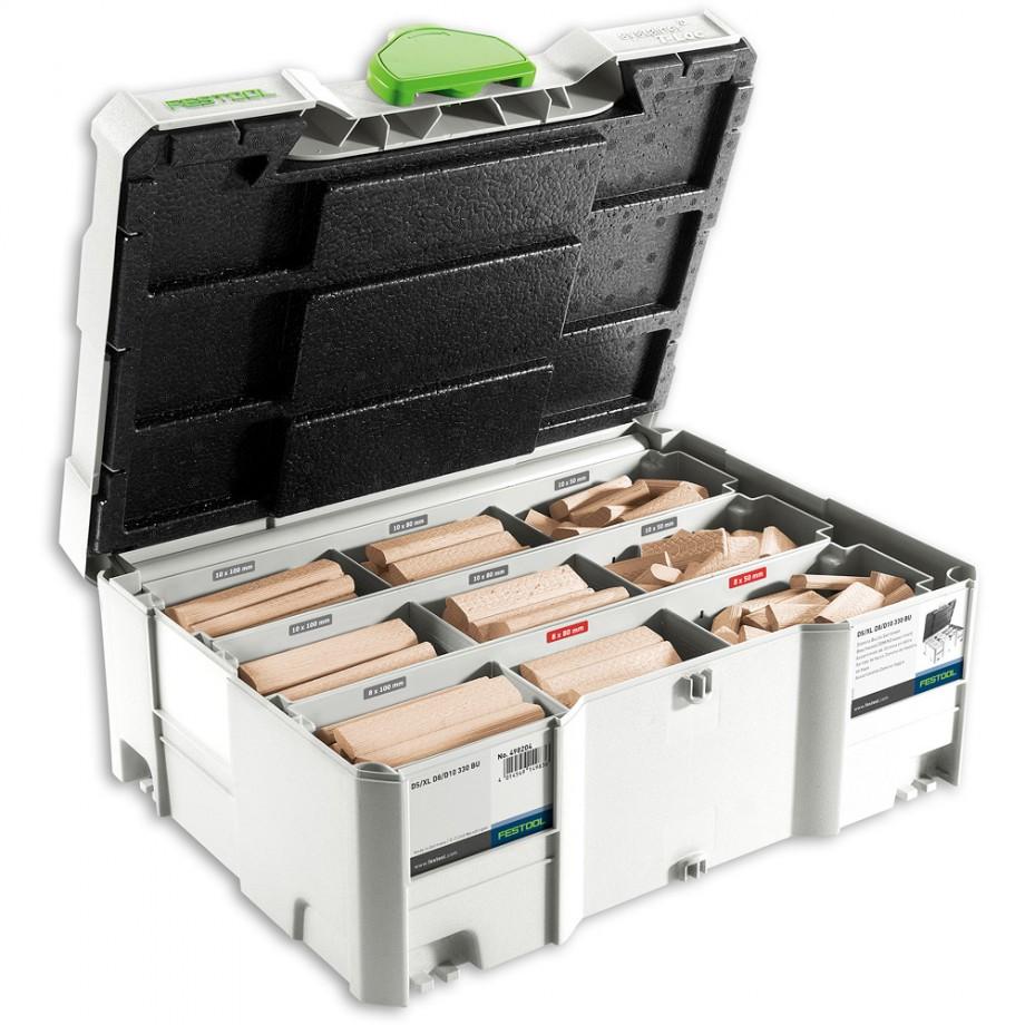 Festool DOMINO Assortment & Cutters D8 & D10 (XL DF 700)