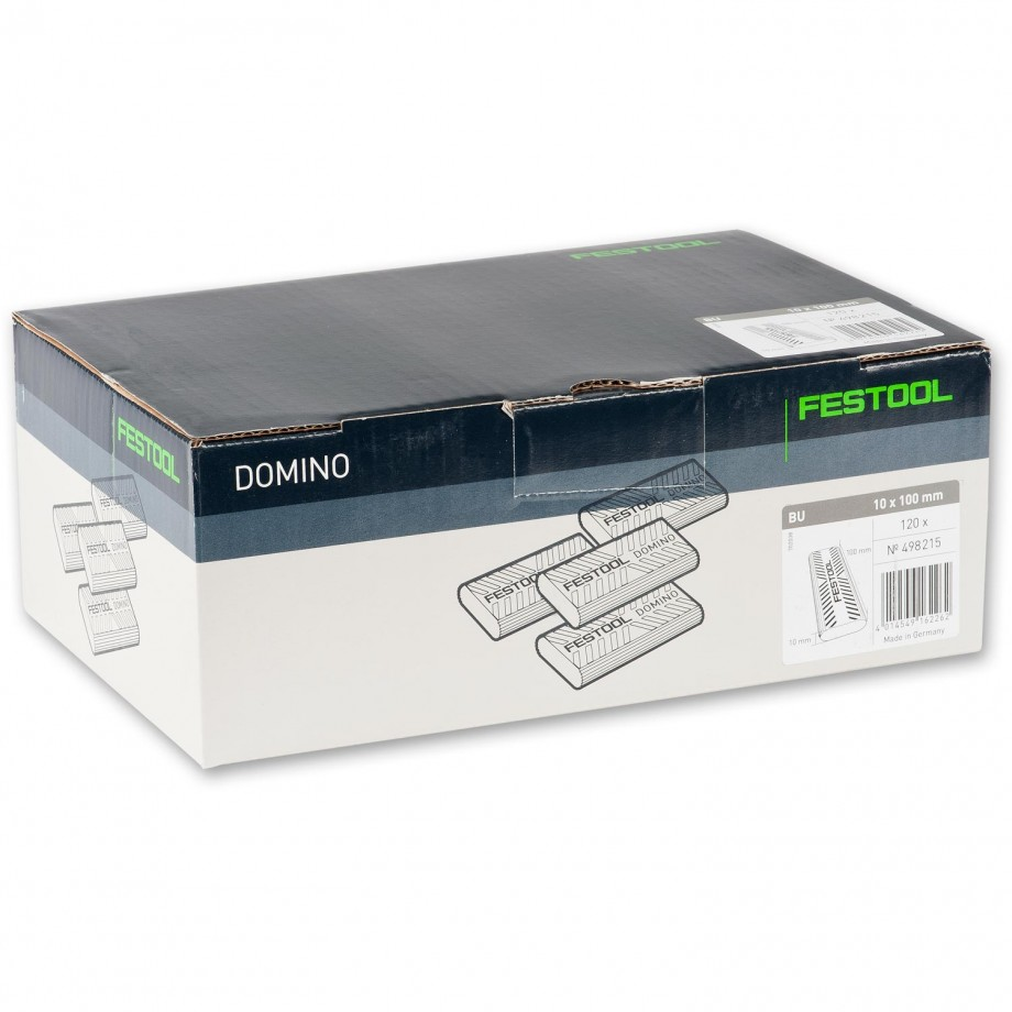 Festool XL DOMINO Dowel 10 x 100mm Pkt 120