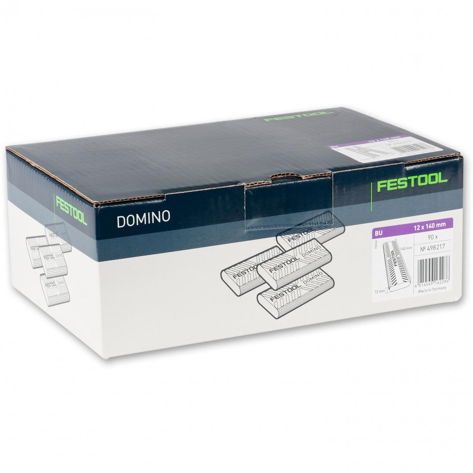 Festool XL DOMINO Dowel 12 x 140mm Pkt 90
