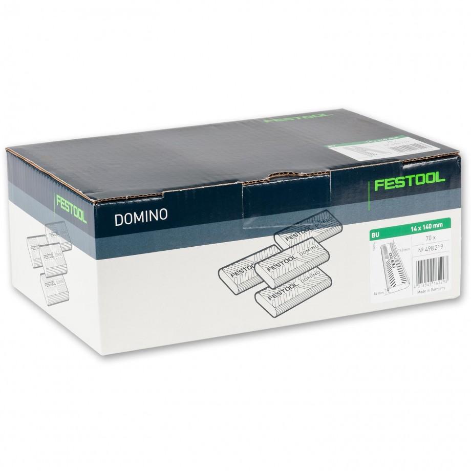 Festool XL DOMINO Dowel 14 x 140mm Pkt 70