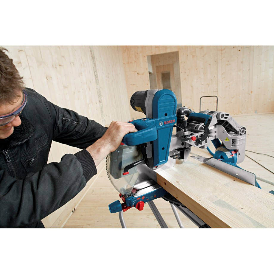 Bosch Gcm 12 Gdl Axial Glide Mitre Saw And Gta 2500 W