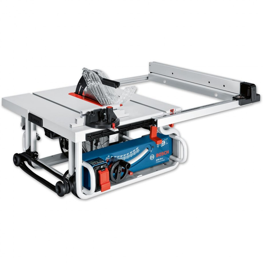 Genial Bosch GTS 10 J 254mm Table Saw