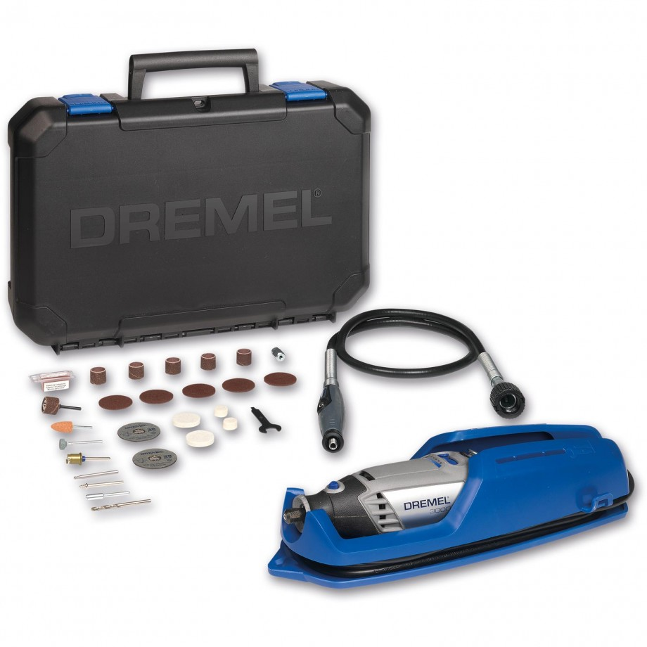 Dremel 3000 1/25 Rotary Tool, Flex Shaft with 25 Accessories