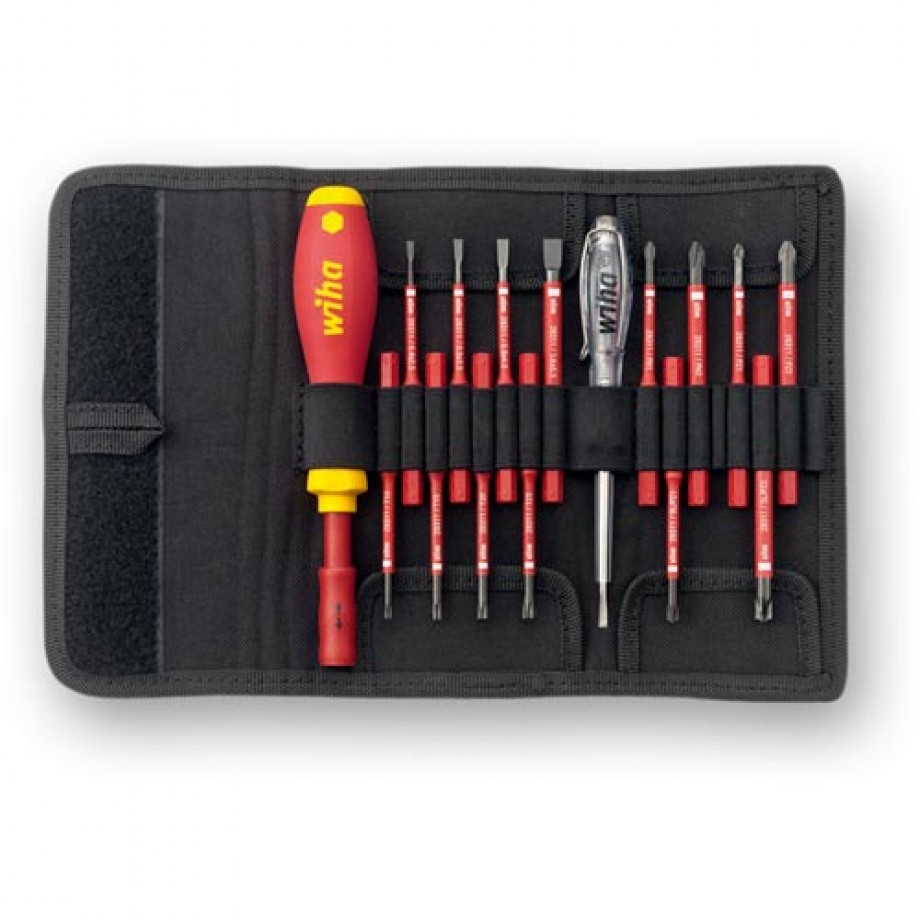 Wiha 16 Piece slimVario VDE Screwdriver Set