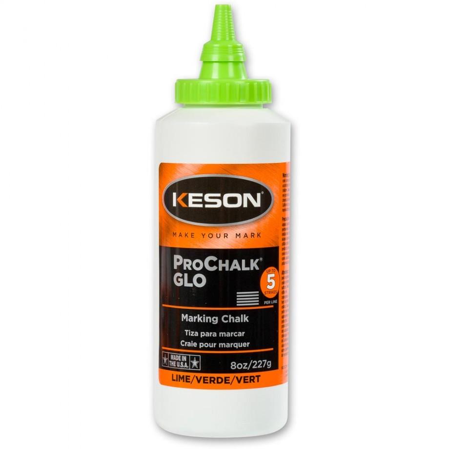 Keson Chalk 227g/8oz - Glo-Lime