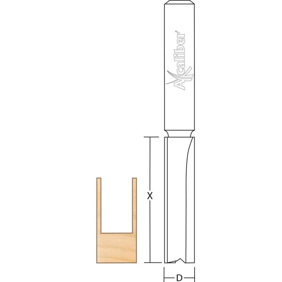 Axcaliber Kitchen Worktop Cutter (Long Shank)