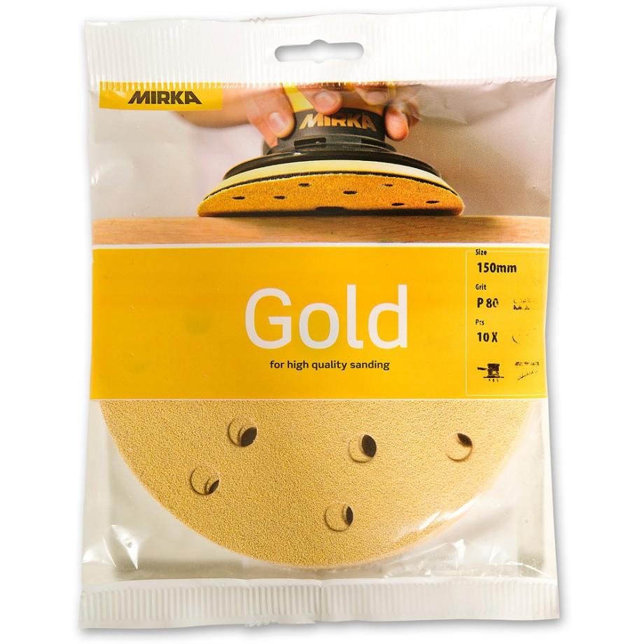 Mirka Gold 80 Grit (Pk100)