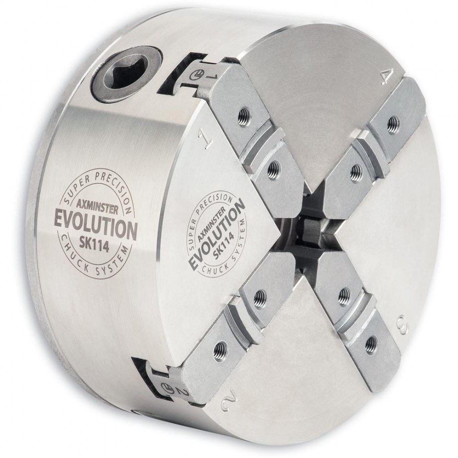 Axminster Evolution SK114  Chuck T37 30mm x 3.5mm (Minimax)